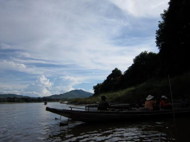 Before crossing the Mekong.