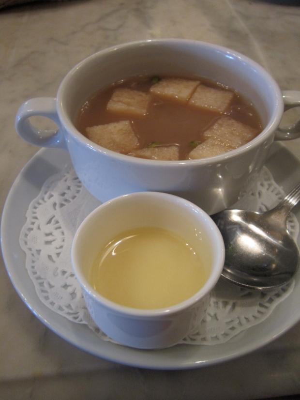 Wedang Sekoteng. My new favorite drink.