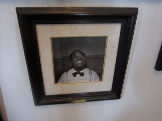 Louis Armstrong making my face!